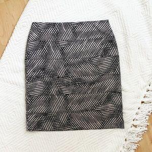 Alfani Bandage Style Stretchy Skirt, Medium